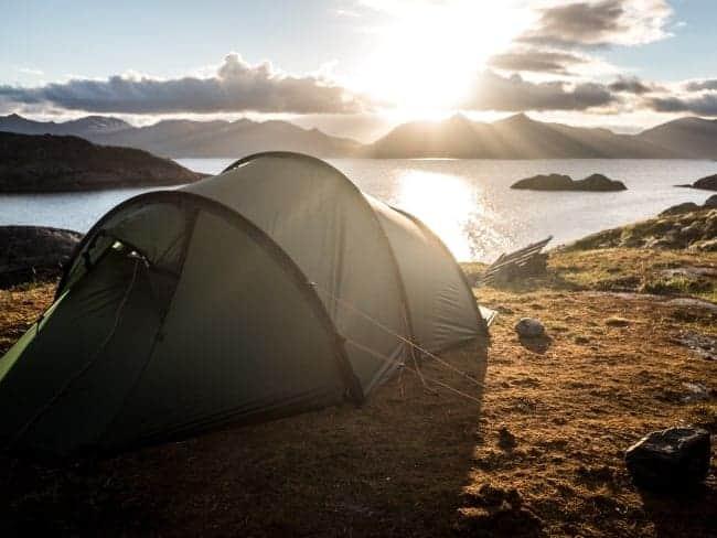 Eerste keer kamperen met een tent