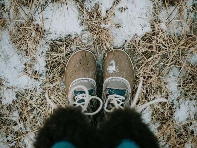 meenemen winterreis snowboots