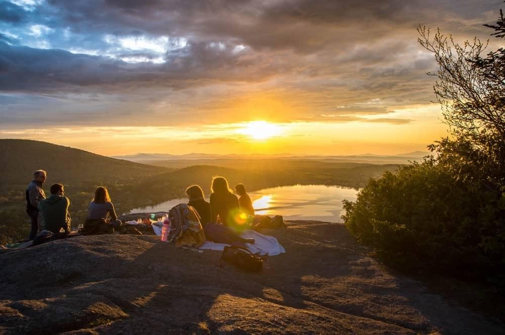 groepsreis bergen picknick