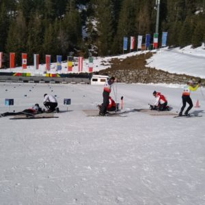 actieve reis biathlon winter