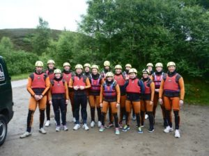 schotland gorge walking actief