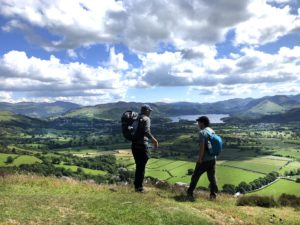 Lake district 2mannen nosun