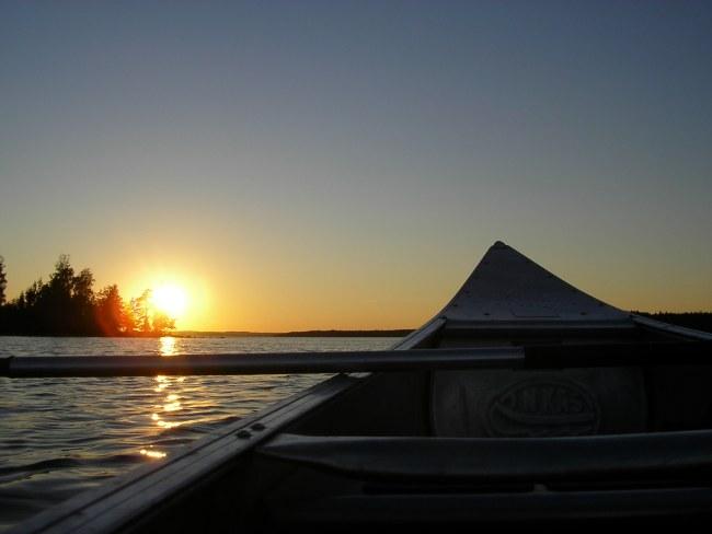 actieve groepsreis zweden kano