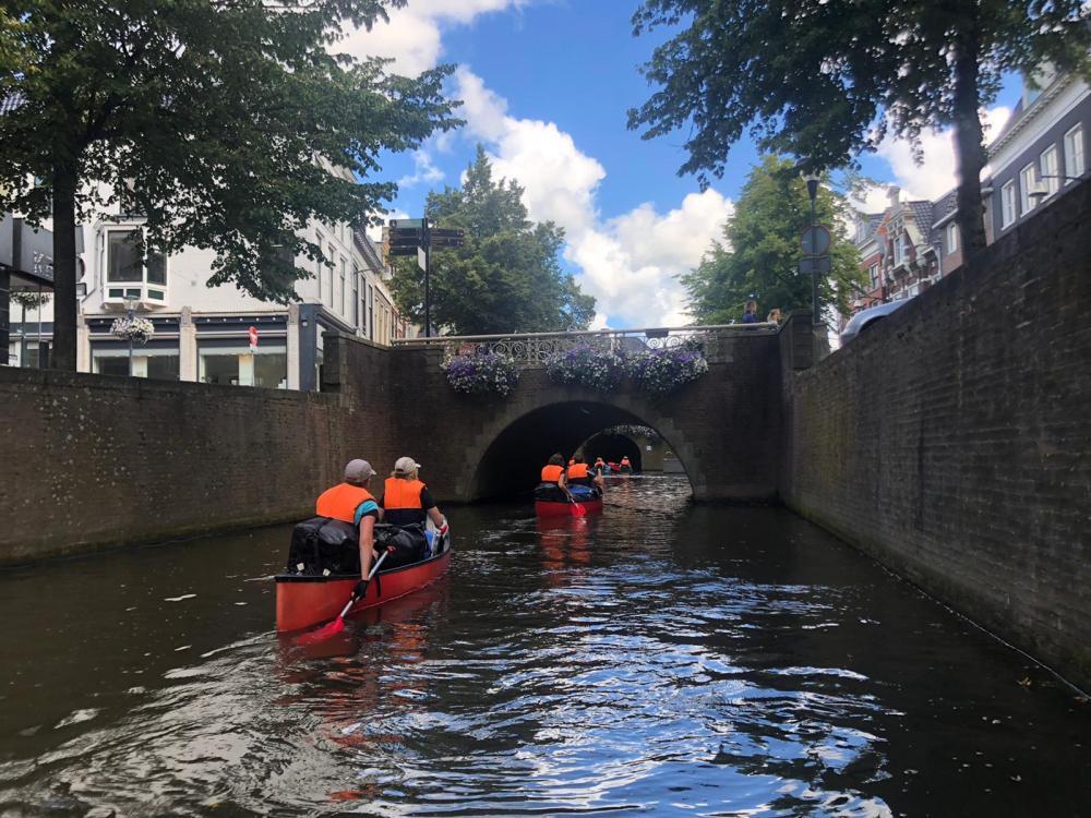 kano groepsreis in Friesland